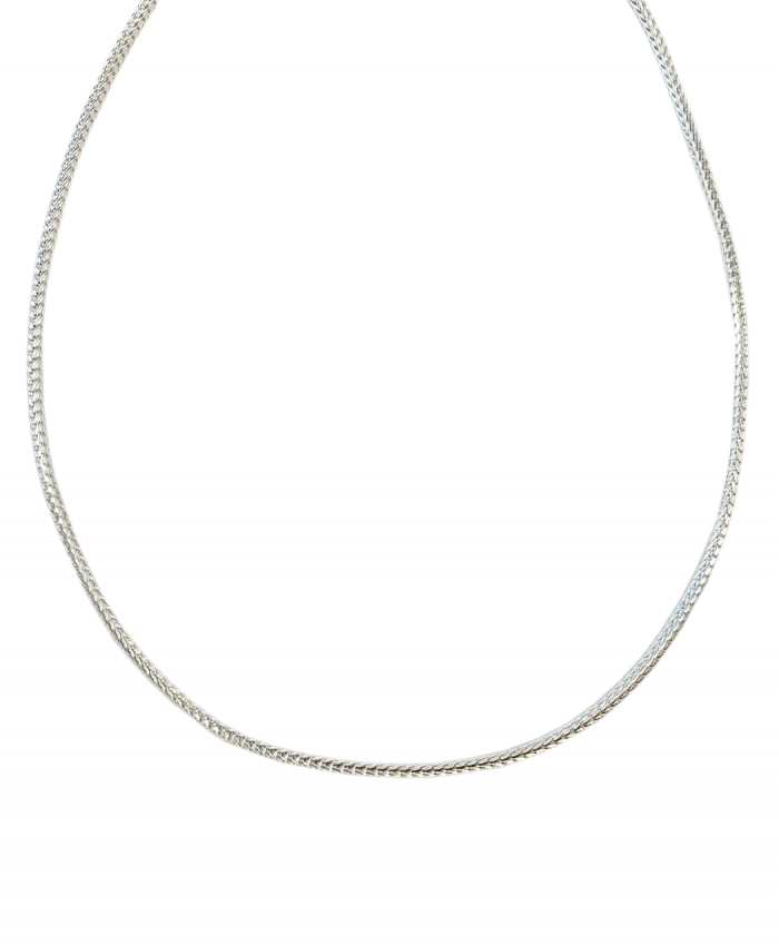 Sterling Silver Foxtail Chain - 962216