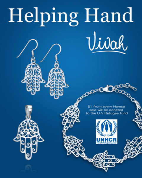 Helping Hand Hamsa Jewelry