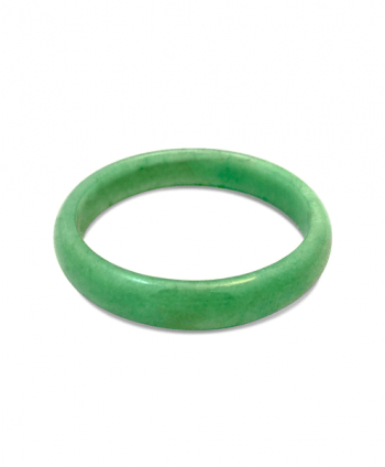 Green Jade Bangle Bracelet