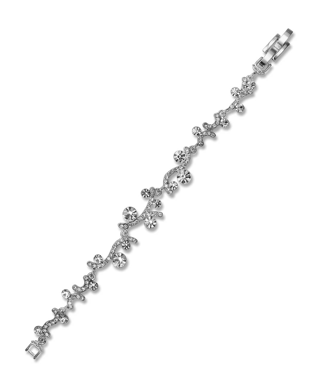 Solid 925 Sterling Silver FW Cultured Pearl /& CZ Cubic Zirconia Forever 18in Neck Embrace 13mm x 18mm