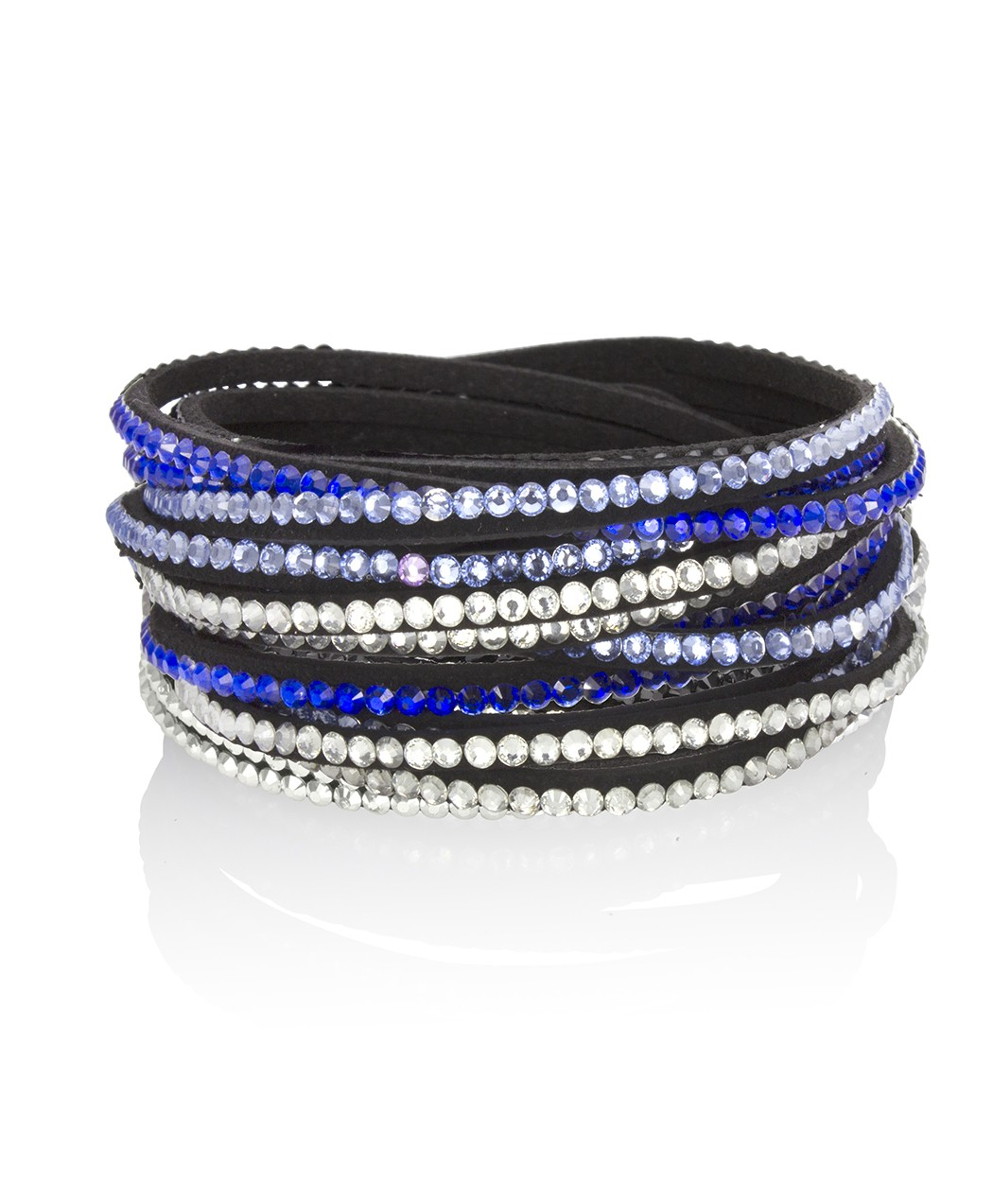 Mix blue wrap Bracelet