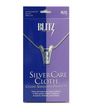 Sterling Silver Jewelry Cleaning Cloth