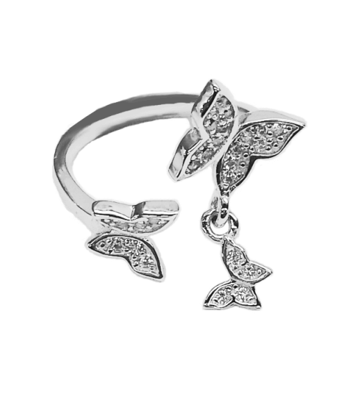 Butterfly Midi Ring