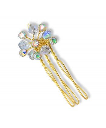 Gold Mini Hair Comb