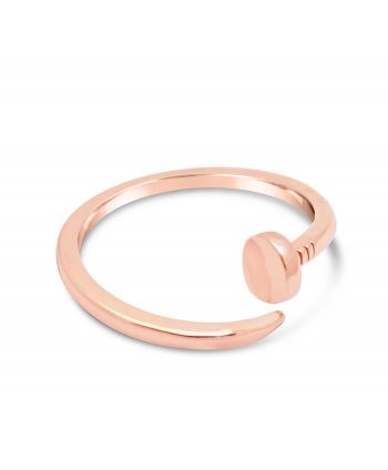 Rose Gold Nail Ring