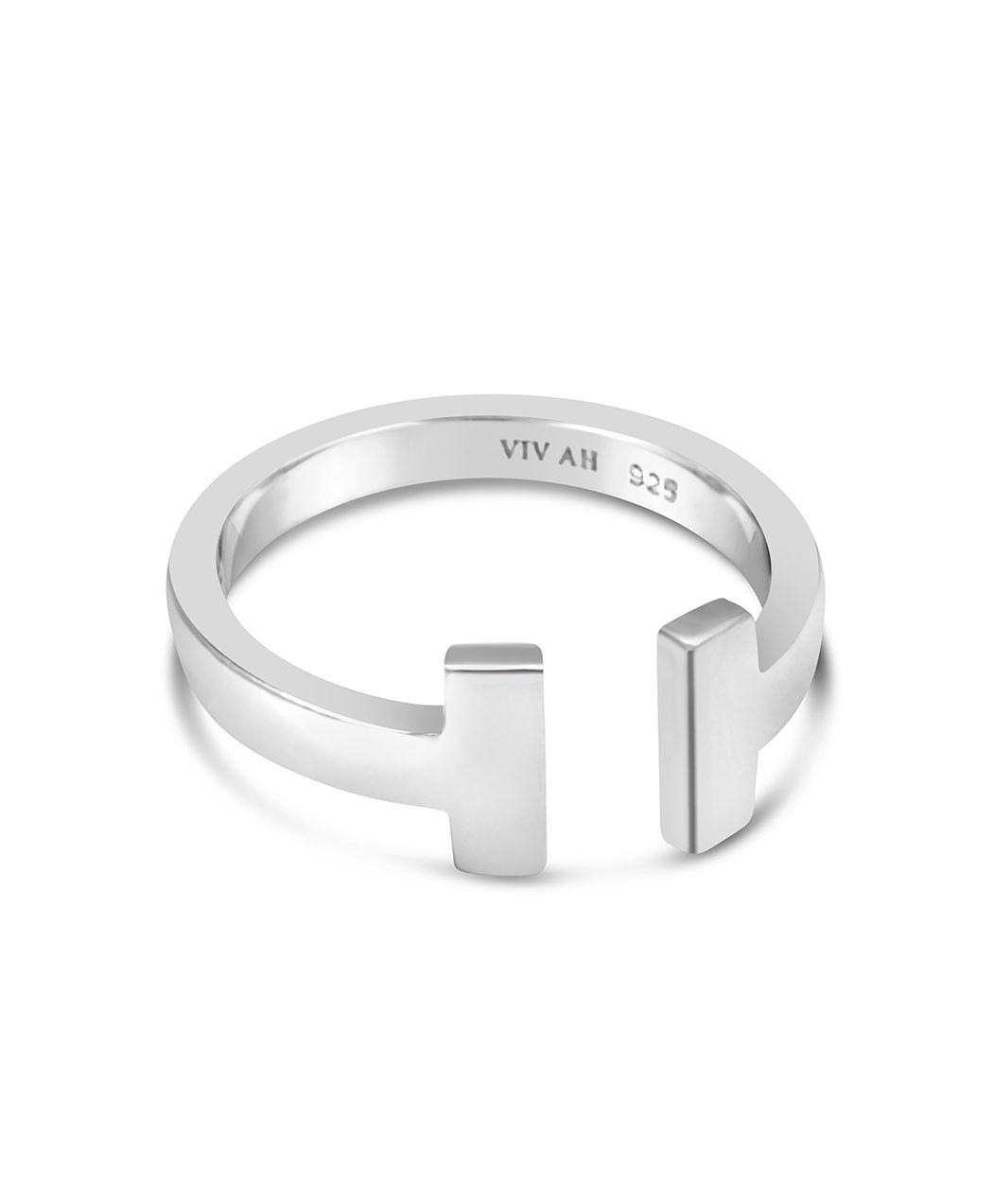 Sterling Silver T-Ring