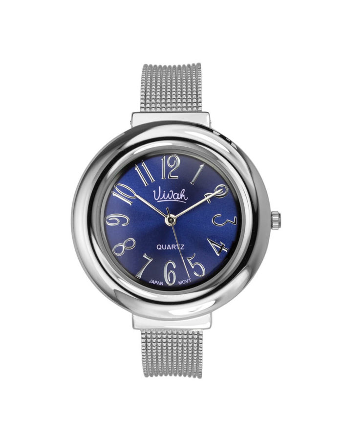 Navy Dial Bangle Watch 1