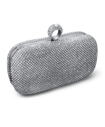 Crystal Ring Box Clutch