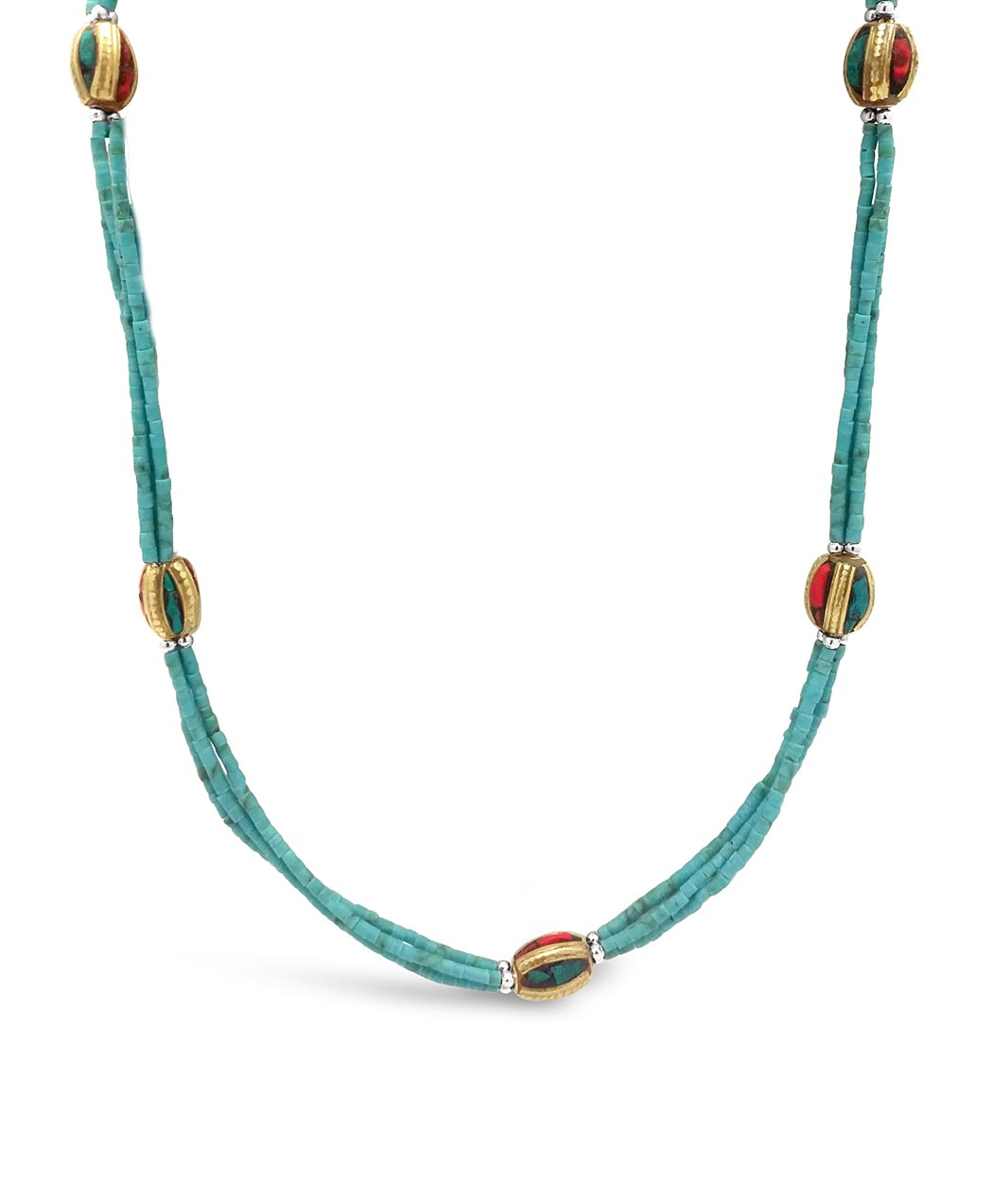 Turquoise Nepalese Necklace