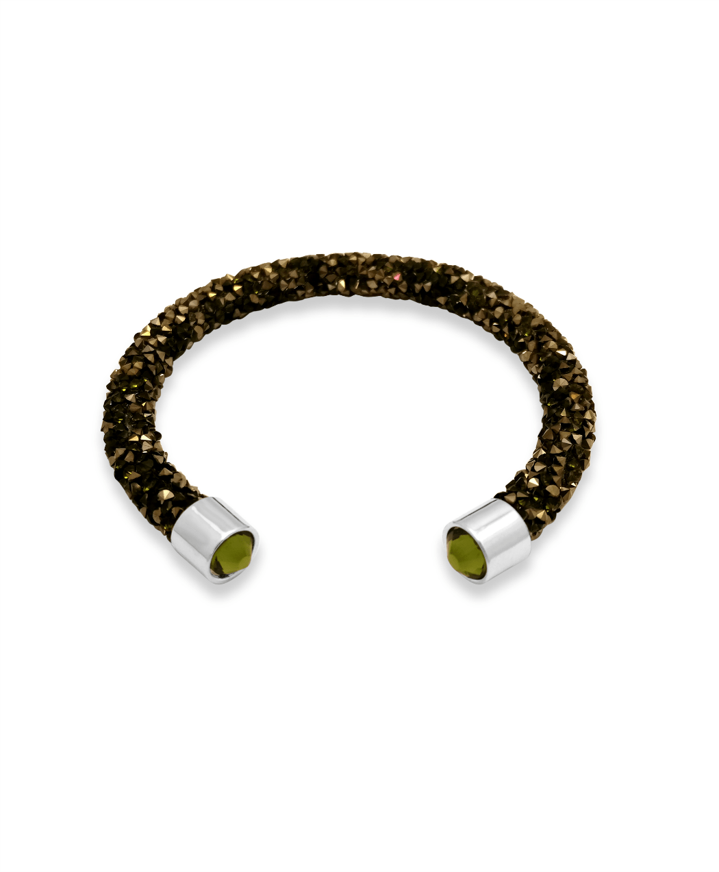 Green Lava Crystal Cuff