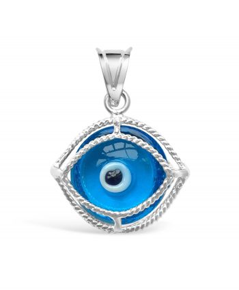 Caged Bad Eye Pendant