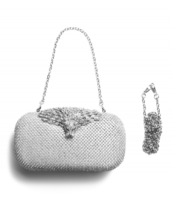 Lionhead Crystal Evening Bag - 540300