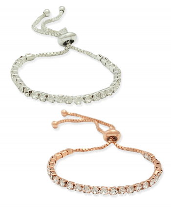 Adjustable Crystal Bracelets