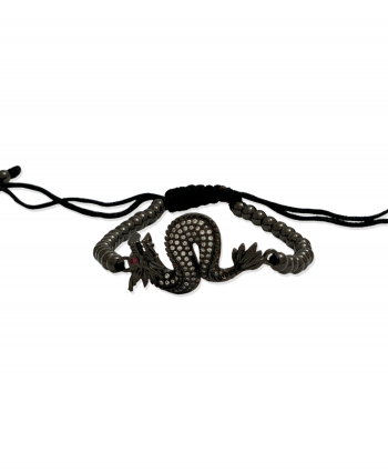 Shamballa Black Dragon Bracelet - 170401