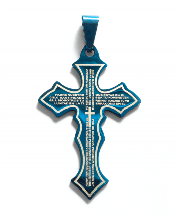 Flat Cross Pendant - 571901
